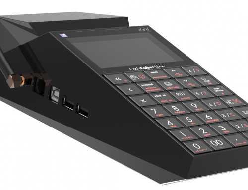 CashCube Mini pénztárgép töltése